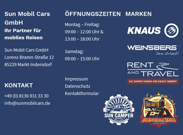 Caravans, Wohnanhänger für  Moorenweis - Maierhof, Luidenhofen, Langwied, Albertshofen, Windach, Weißenzell und Steinbach, Römertshofen, Purk
