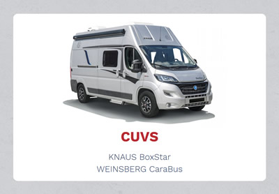 Knaus Weinsberg Wohnwagen