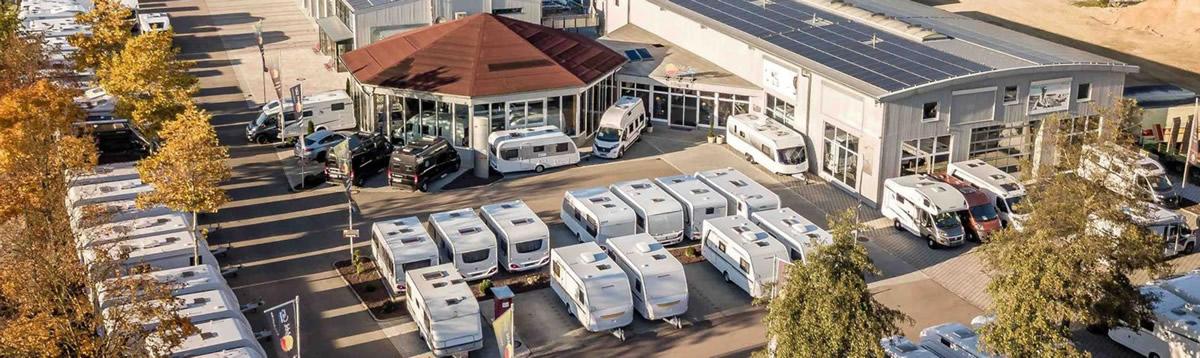Sunmobil Cars Wohnwagen Überackern - Wohnanhänger kaufen - Campingträume leben