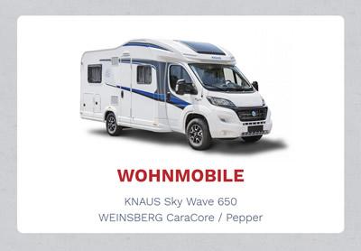 Wohnmobile Knaus Weinsberg