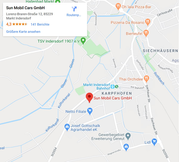 Wohnmobile Verkauf in  Tannheim, Kirchdorf (Iller), Memmingerberg, Steinhausen (Rottum), Aitrach, Heimertingen, Memmingen und Buxheim, Rot (Rot), Berkheim